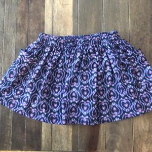 Girls skirt with built in shorts, Carter's